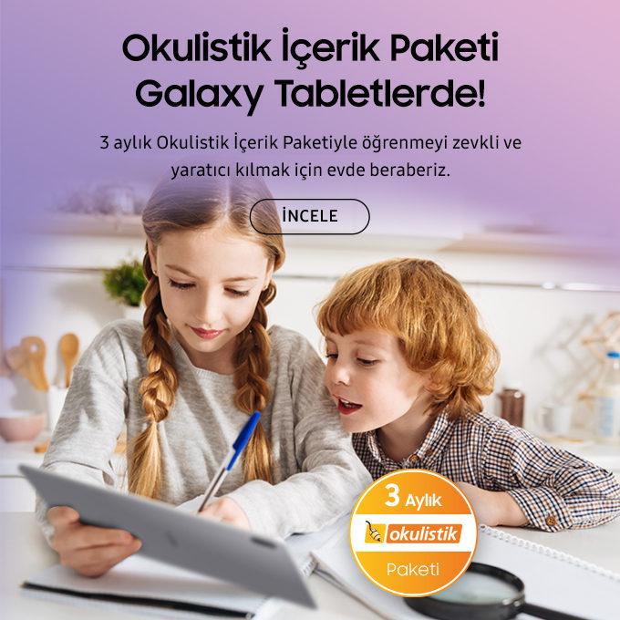 Samsung'dan uzaktan eğitime destek!