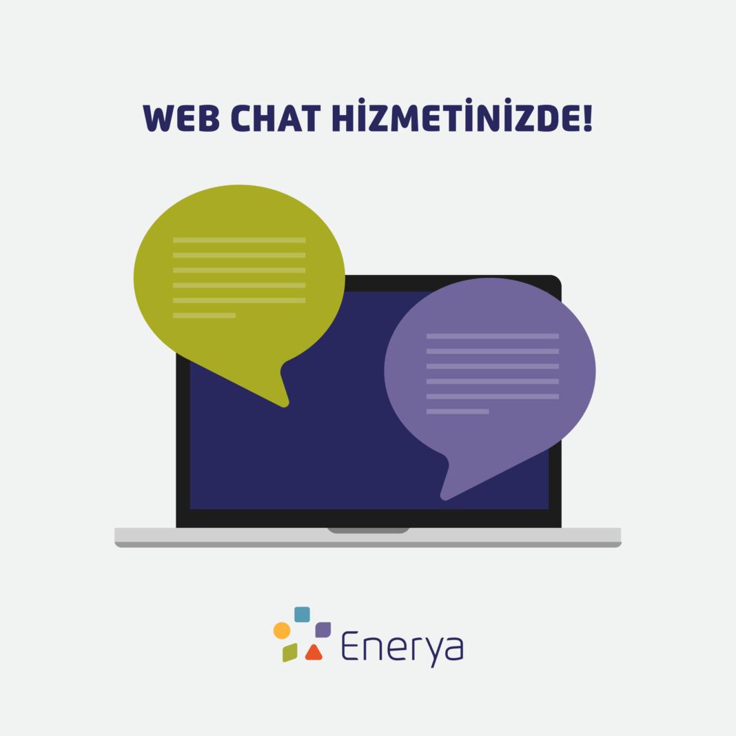 Enerya'dan, abonelerine web chat hizmeti