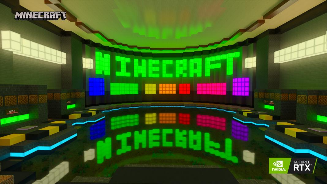 Minecraft RTX'in Windows Beta Lansmanı, Oyuncuyla Buluşturuyor