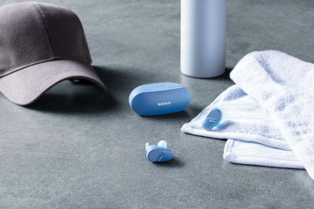 Sony, Tamamen Kablosuz Kulaklık Serisini WF-SP800N İle Güçlendiriyor