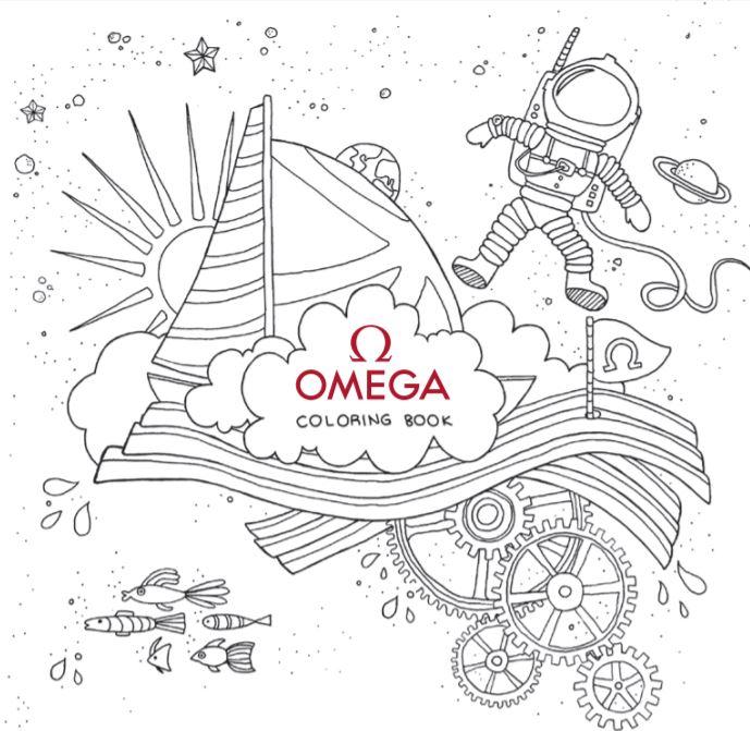 OMEGA, farklı görsellerle hayal gücünü harekete geçirecek dijital boyama kitabını markanın web sitesi üzerinden ücretsiz olarak erişime sunuyor