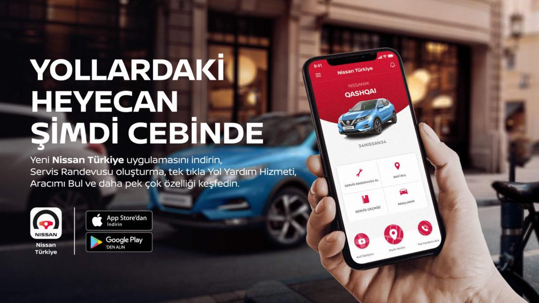 """""""NISSAN Türkiye Mobil Uygulamasi"""" Devrede"""