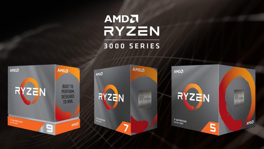 AMD Yeni Ryzen™ 3000XT İşlemcileri Duyurdu