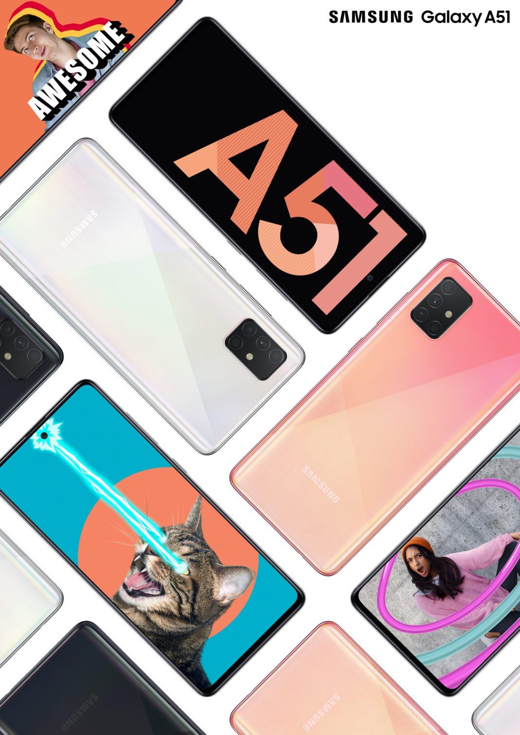 En Çok satan Android telefon Samsung Galaxy A51