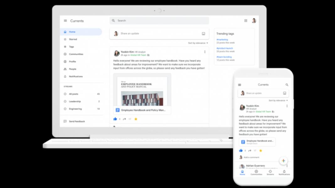 Google+ platformunun yerini alacak olan Currents, 6 Temmuz'da kullanıma sunuluyor