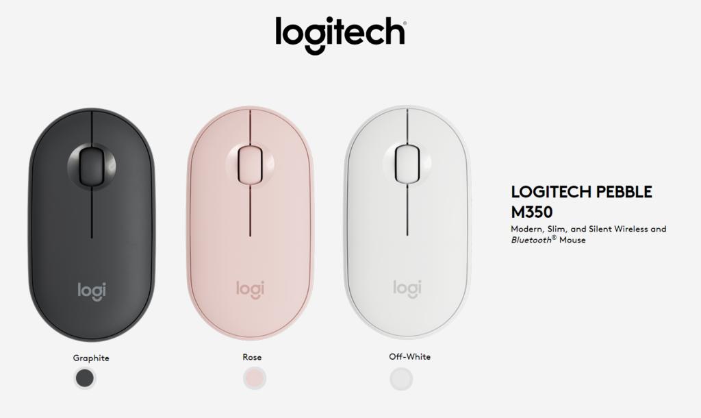 Logitech M350 Pebble Kablosuz Mouse