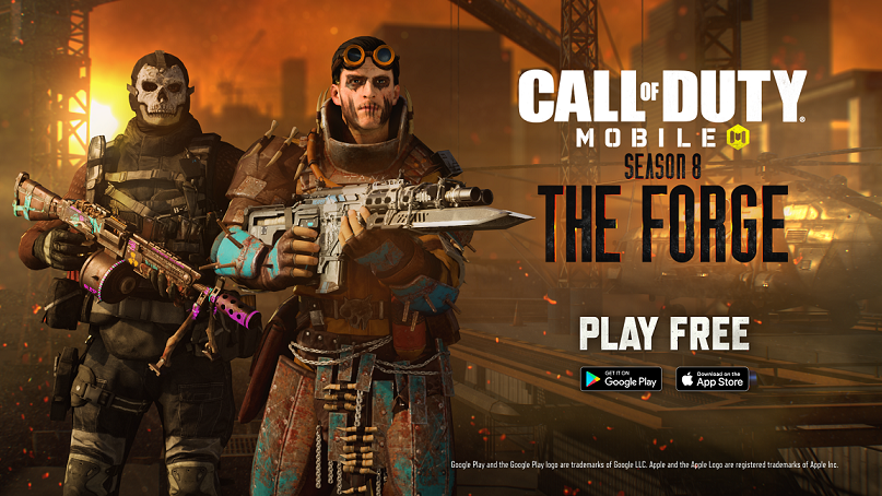 Call of Duty Mobile'ın 8. Sezonu The Forge