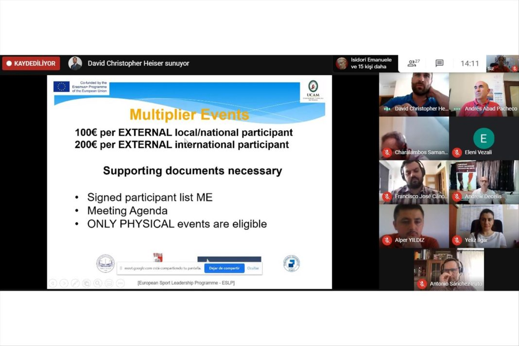 ESLP'nin Son Toplantisi Online Ortamda Gerceklestirildi