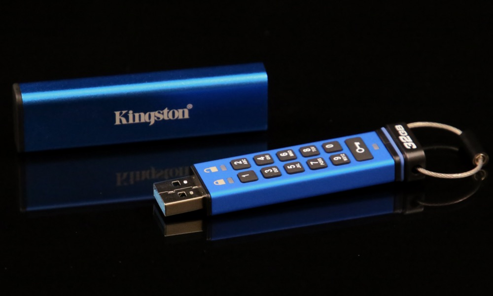 Kingston, Şifreli USB Flash Bellek s