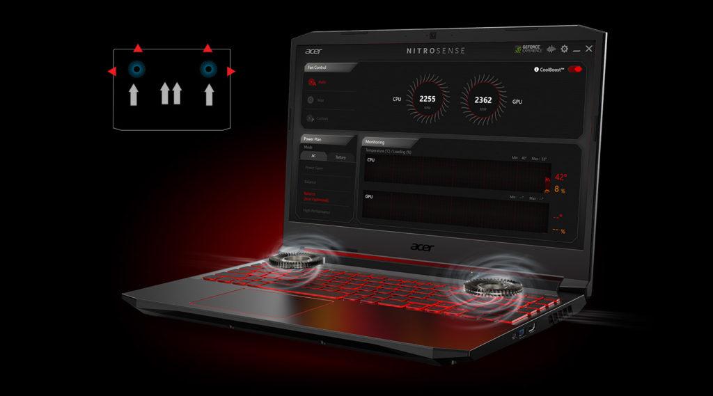 Acer Nitro 5, AMD Ryzen™ 4000 serisi
