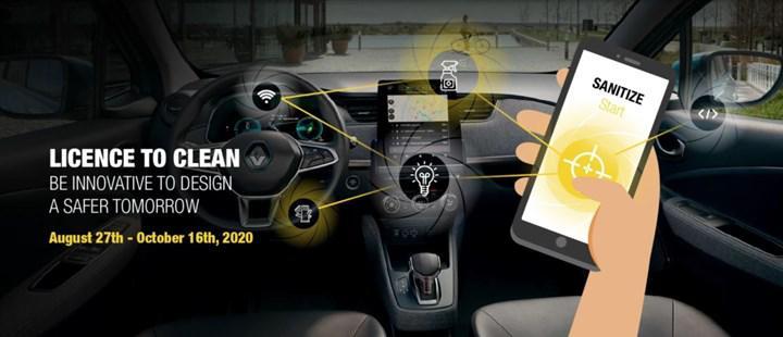 Renault, daha hijyenik otomobil çözümleri bulmak için Türkiye dahil 6 ülkede yarışma düzenliyor