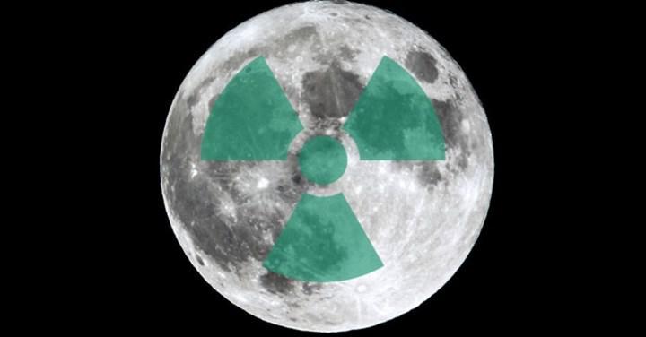 Bilim insanları, Ay yuzeyindeki radyasyon seviyesini olctu