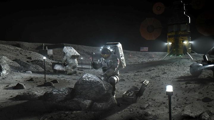 NASA duyurdu: İnsanlık Ay'a geri dönüyor, maliyeti 28 milyar dolar