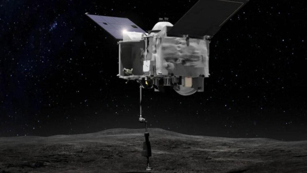 NASA'nın gök taşına iniş yapan uzay aracından inanılmaz görüntüler
