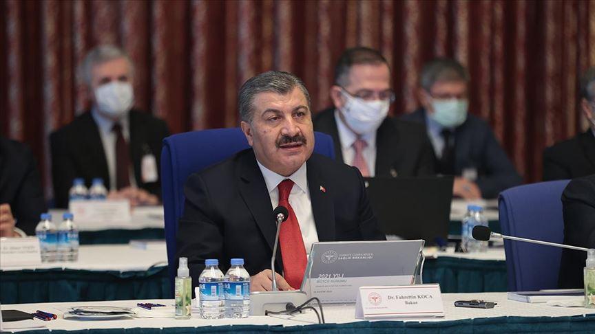 Bakan Koca, Covid-19 aşısının Türkiye'ye geleceği tarih ve miktarını açıkladı