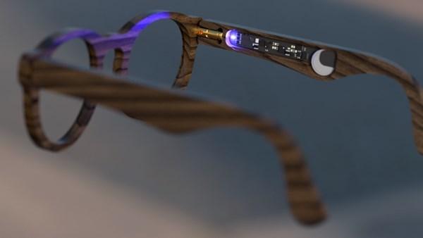 Kendi akıllı saatini yapan amatör şimdi de akıllı gözlük üretti