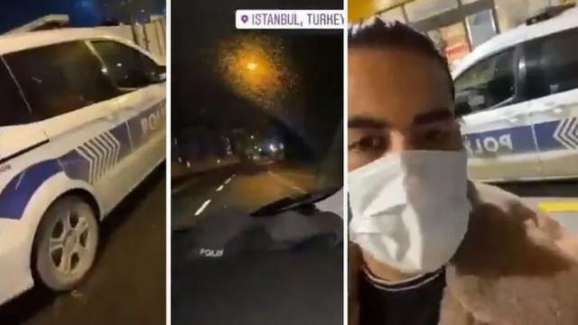 İstanbul'da Polis Aracıyla Tur Atan İranlı YouTuber, Sınır Dışı Ediliyor