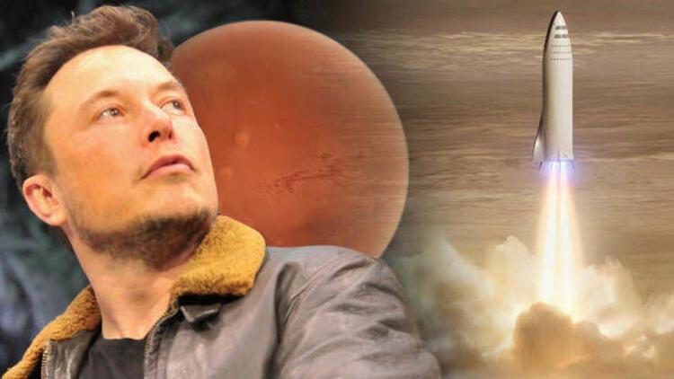 Elon Musk: İnsanlar 4 ya da 6 Yıl İçinde Mars'a İnecek