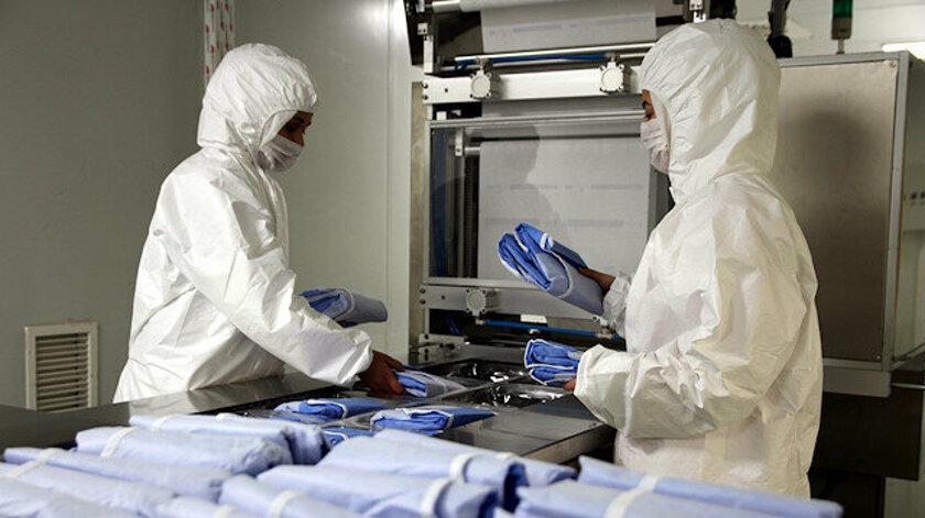 Gaziantep'te Koronavirüsü 2 Saat İçinde Yok Eden Kumaş Üretildi