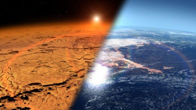 Mars'ta Oksijenin Kaynağı Yeraltındaki Taş Yatakları Olabilir