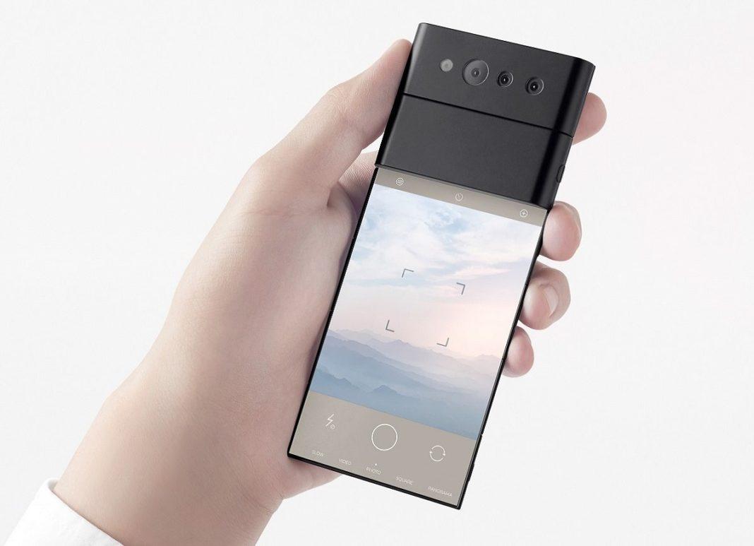 OPPO ve Nendo'dan 3 Kez Katlanabilen Kızaklı Telefon
