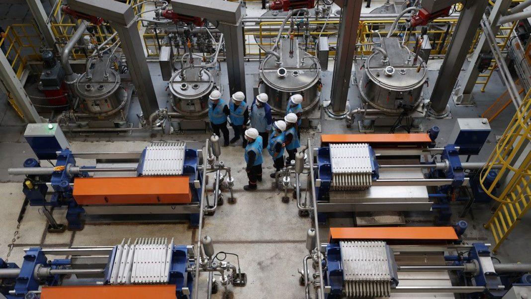 TOGG'un da Faydalanacağı Türkiye'nin İlk Lityum Karbonat Üretim Tesisi Yarın Açılıyor