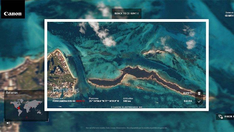 Canon, Uzaydan Dünyayı 'Fotoğraflamaya' İmkan Tanıyan İnteraktif Sitesini Hizmete Sundu
