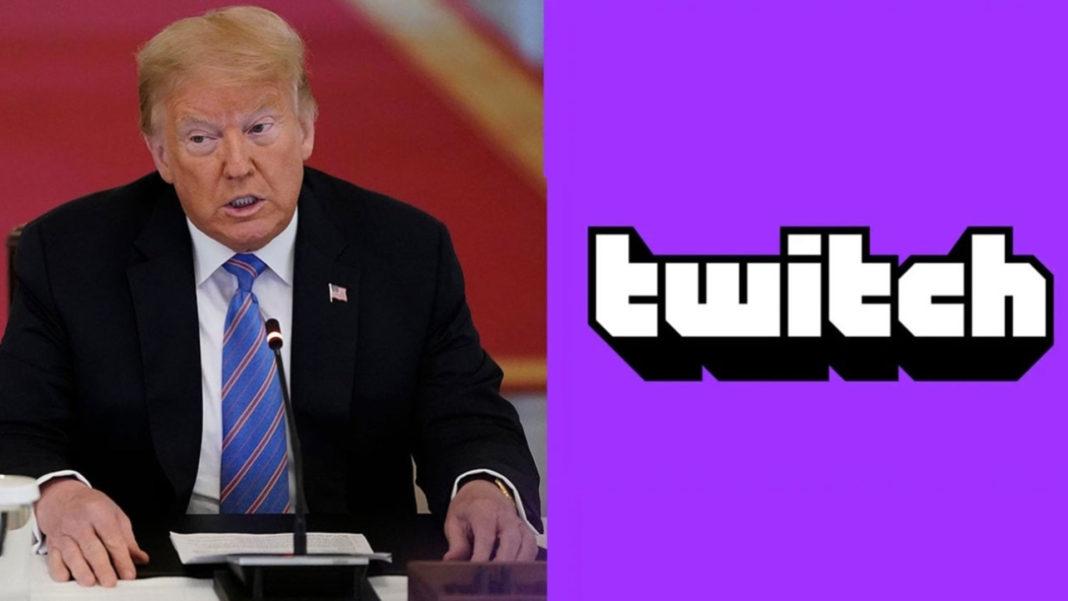 Donald Trump'ın Twitch Kanalı da Süresiz Olarak Kapatıldı