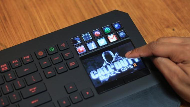 Macbook klavye tuşları gelecekte ekran barındırabilir