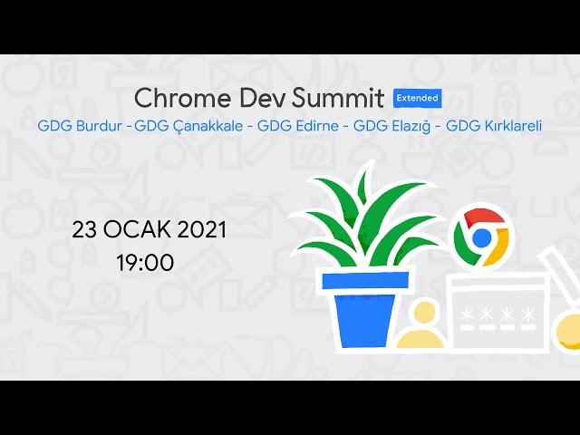 Türkiye'nin İlk Chrome Dev Summit Extended Etkinliği İçin Geri Sayım Başladı