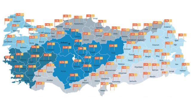 Türkiye'nin Fiber Altyapı Haritası Çıkarıldı
