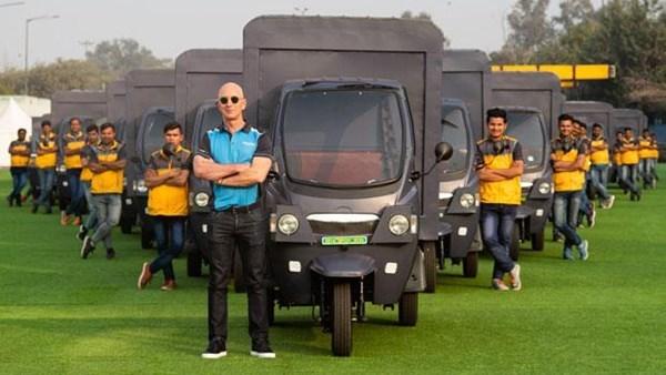Amazon, Hindistan'da Mahindra'nın üç tekerlekli elektrikli araçlarıyla dağıtım yapacak