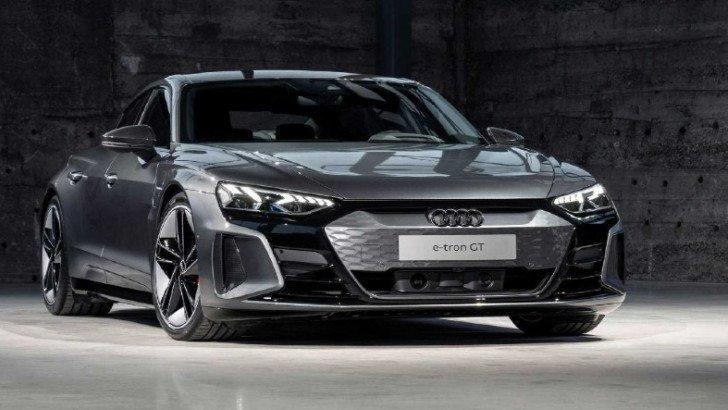 Audi, 598 Beygir Gücündeki Yeni Elektrikli Sedanı E-Tron GT'yi Tanıttı