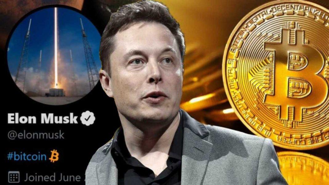 Elon Musk, Twitter'da Profil Fotoğrafını Değiştirdi: Bitcoin Rekor Uçuşa Geçti