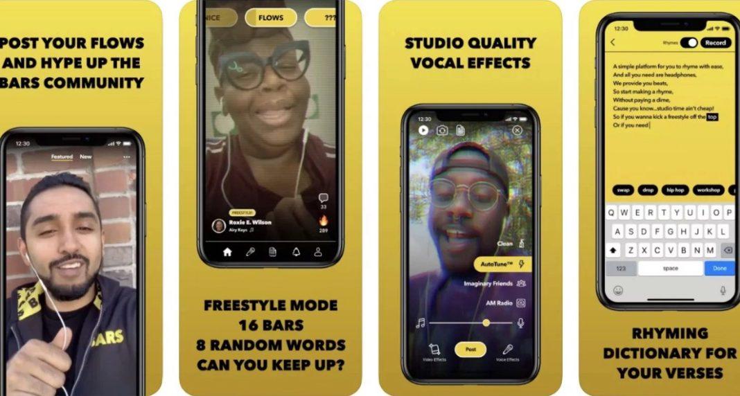 Facebook'un 'Rap' Yapmak İsteyenlere Özel Yeni Uygulaması Bars