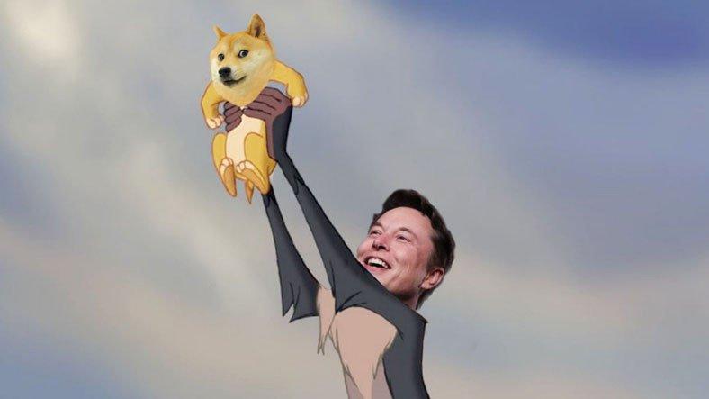 Twitter'a Bomba Gibi Dönen Elon Musk, Dogecoin'i Bir Kez Daha Uçurdu