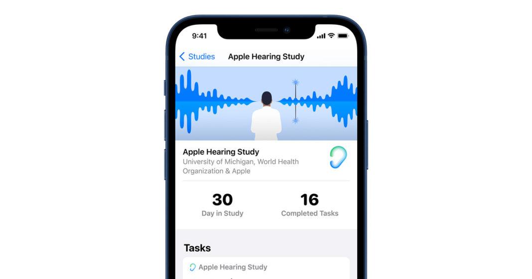 Apple, 'Hearing Study' ile İşitme Sağlığının İyileştirilmesi İçin Yeni Veriler Sunuyor