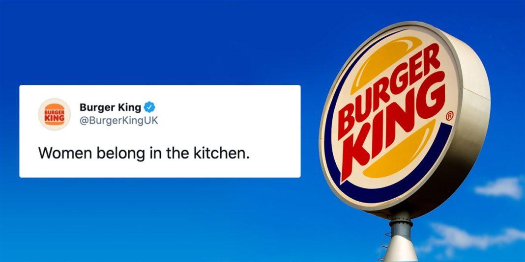 Burger King'in Kaş Yapayım Derken Göz Çıkartan Kadınlar Günü Paylaşımı, Sosyal Medyada Gündem Oldu