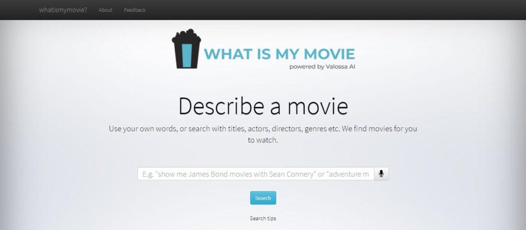 Film Konusu Yazarak Film Bulmayı Sağlayan İnternet Sitesi: What is My Movie