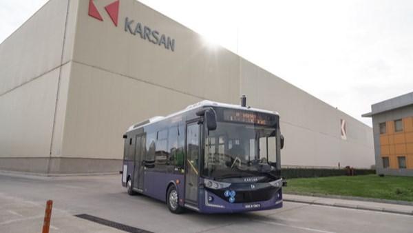 Karsan, seviye 4 otonom özelliklere sahip otobüsünün teknik detaylarını paylaştı