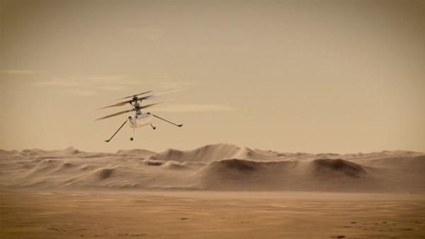 Mars helikopteri, Nisan ayının başında ilk kez havalanacak