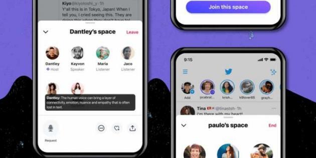 Twitter'ın Clubhouse Benzeri Hizmeti 'Twitter Spaces', Android'de Test Edilmeye Başladı