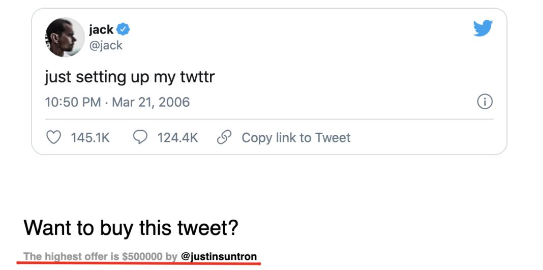 Twitter CEO'su, Attığı İlk Tweet'i Açık Artırma Çıkardıktan Sonra 2,5 Milyon Dolara Alıcı Buldu