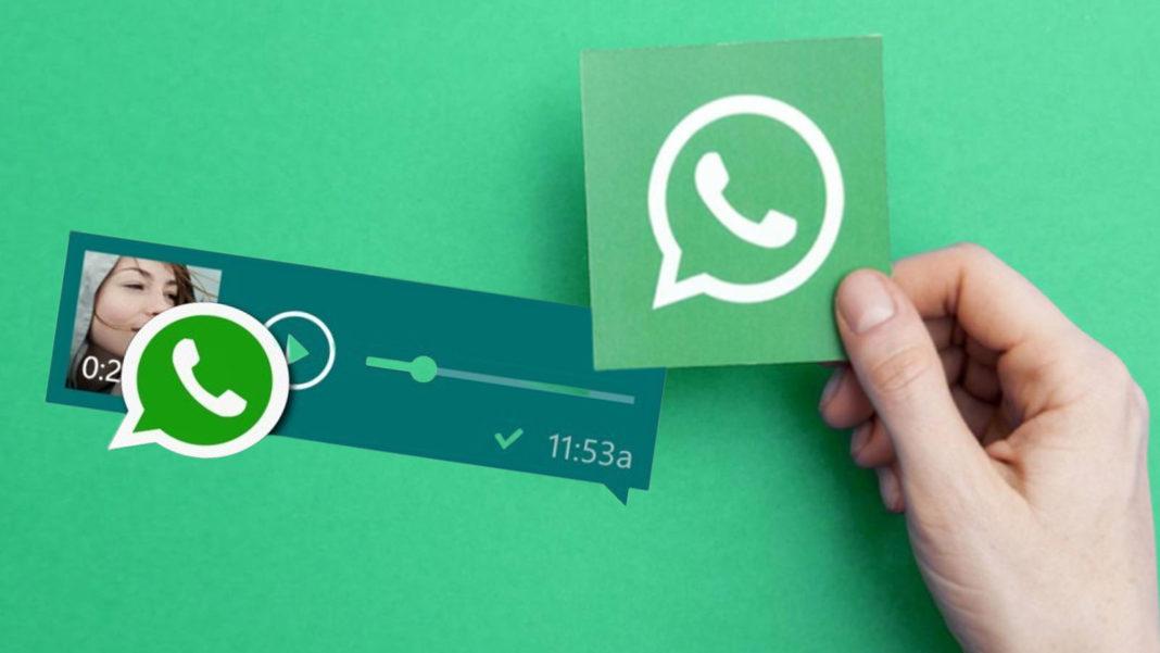 WhatsApp'a Sesli Mesajları