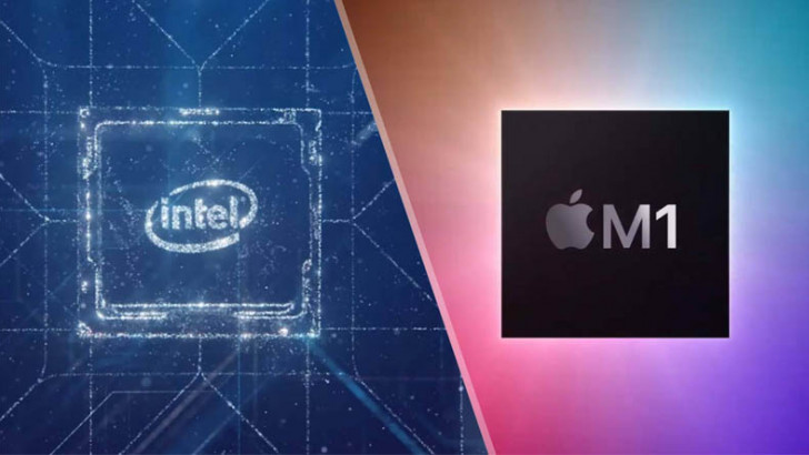 Apple'a Sataşmayı Sürdüren Intel, Bu Sefer Olmayan Bir Şeyi Olmuş Gibi Gösterdi