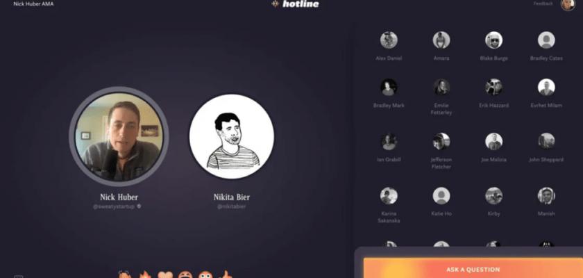 Facebook, Clubhouse ve Instagram Live Karışımı Olan Platformu Hotline'ı Duyurdu