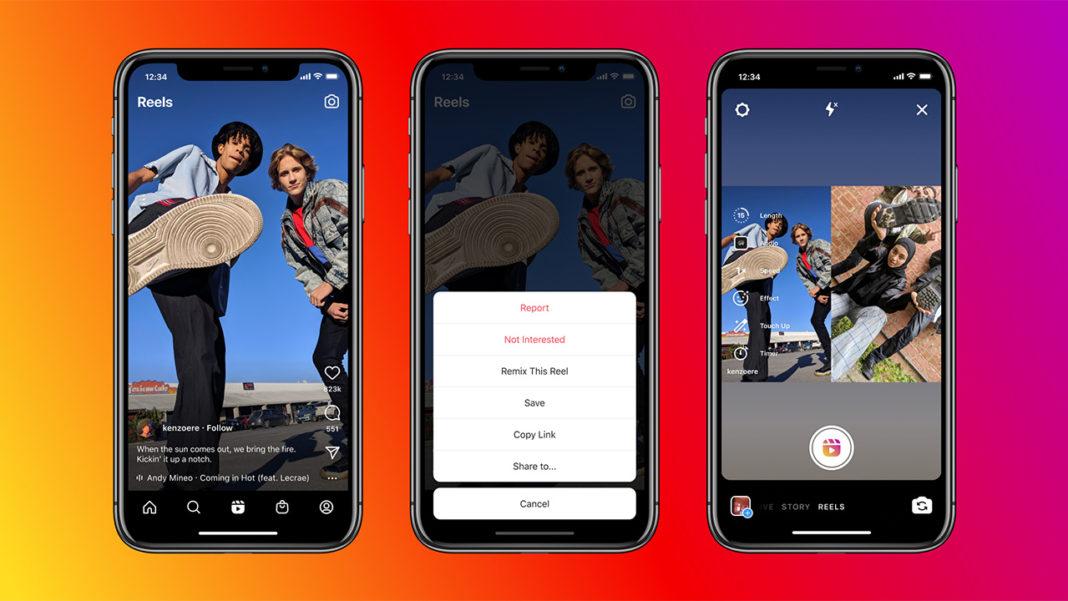 Instagram'a İki Reels Videosunun Yan Yana Getirilmesini Sağlayan 'Remix' Özelliği Geldi