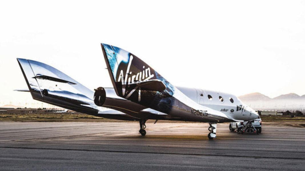 Virgin Galactic, Turistleri Taşıyacak Uzay Aracı 'VSS Imagine'i Tanıttı
