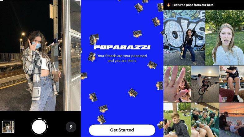 Kendi Fotoğraflarınızı Paylaştırmayan Sosyal Medya Uygulaması: Poparazzi