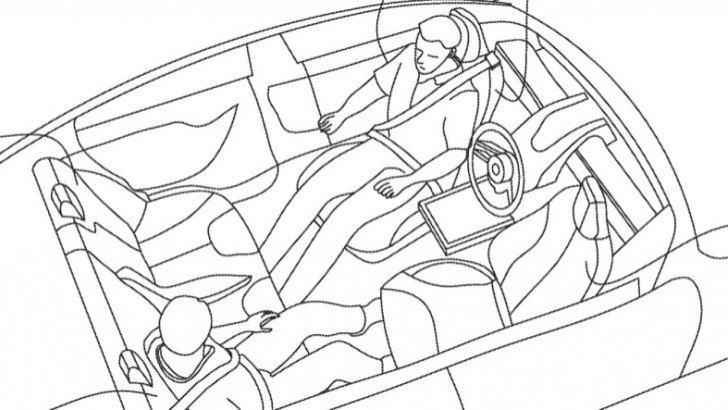 Tesla'nın Otomobillerin İçini Oturma Odasına Dönüştürecek Patenti Ortaya Çıktı